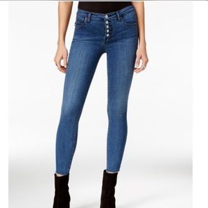 Free People Raegan Button Fly Jeans